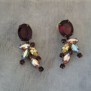 Vintage Sorrelli pierced earrings
